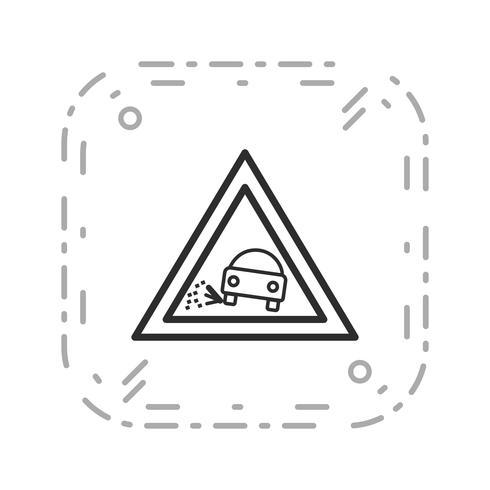 vettore perde icona di ghiaia