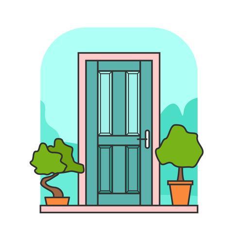 Vettore porta