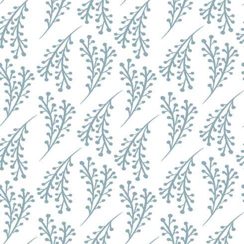 Christmas vector seamless pattern in Scandinavian style. Best for pillow, typography design, curtains