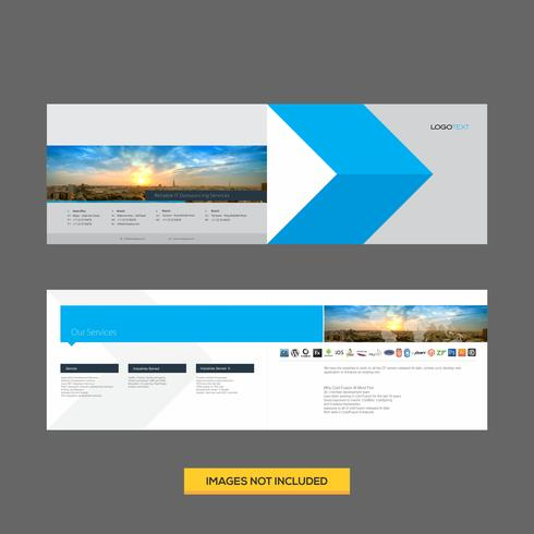 Creative Corporate Flyer Design Template vector