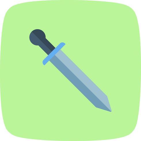 Icono de vector de espada