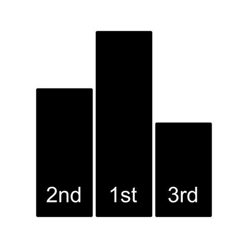 Icono de Vector de tablas de líderes