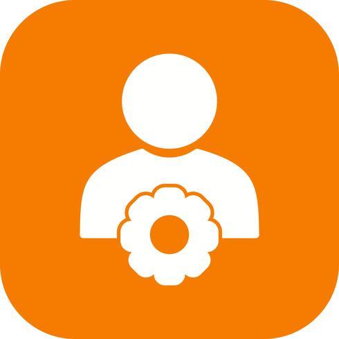 Icône de vecteur de gestion des utilisateurs