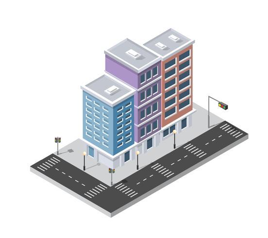Distrito da rua da cidade