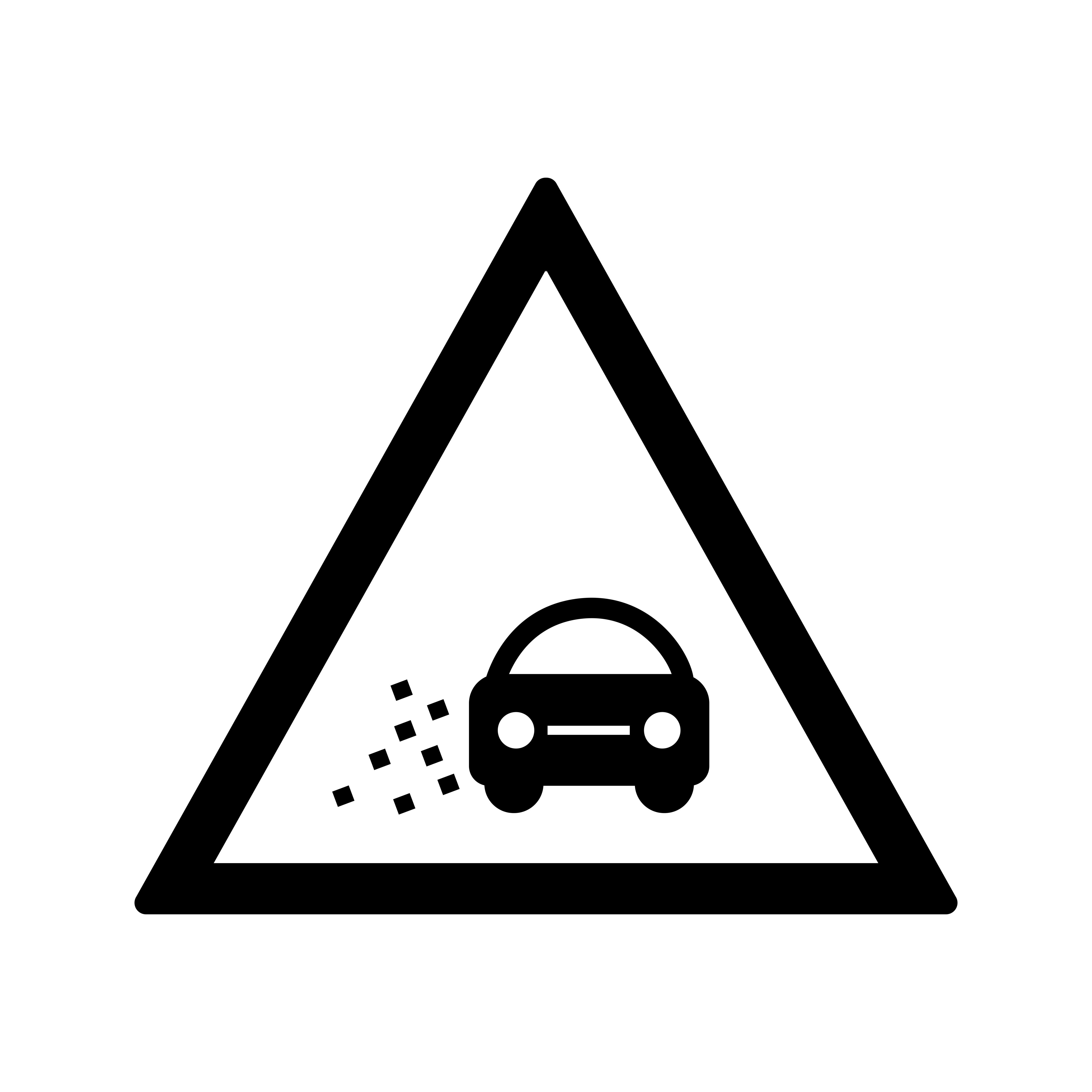 vector lose gravel icon