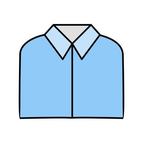 Schulhemd Vektor Icon