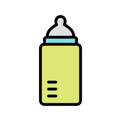 Babyfles Vector Icon