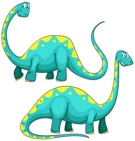 Dinosaur med lång hals