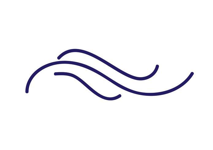 Divisor escandinavo do vetor do flourish dos povos da caligrafia de Monoline. Elemento de design para casamento e dia dos namorados, cartão de aniversário