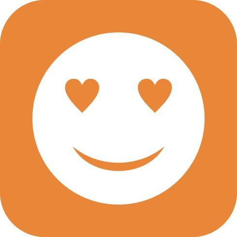 Love Emoji Vector Icon