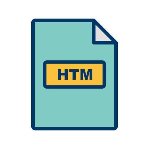 HTM Vector Icon