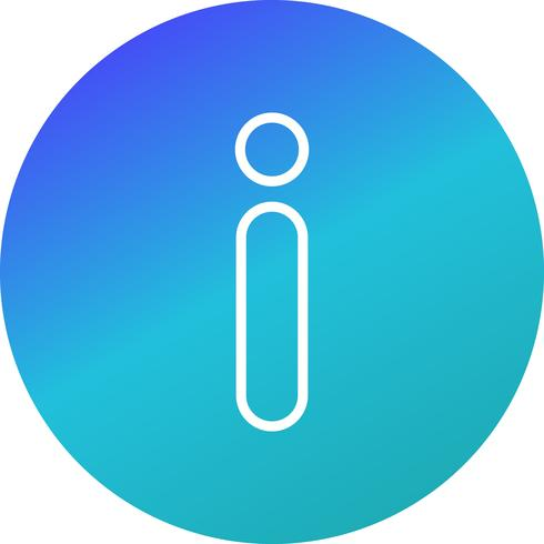 Icono de Vector de información