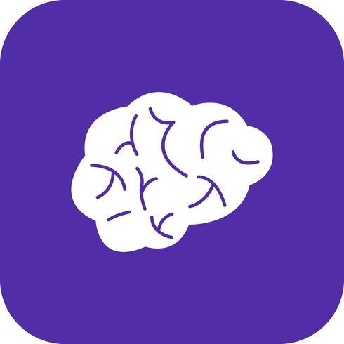Icona di vettore del cervello