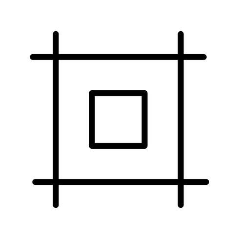 icône de vecteur de mise en page