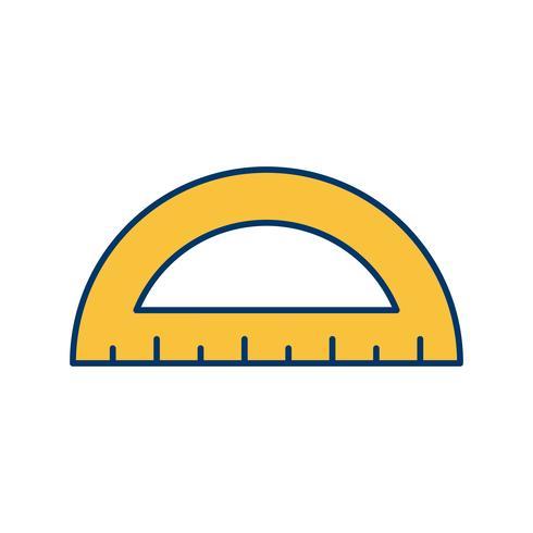 Icona di vettore del goniometro