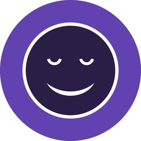 Calma Emoji Vector Icon