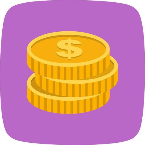 Icono de Vector de monedas