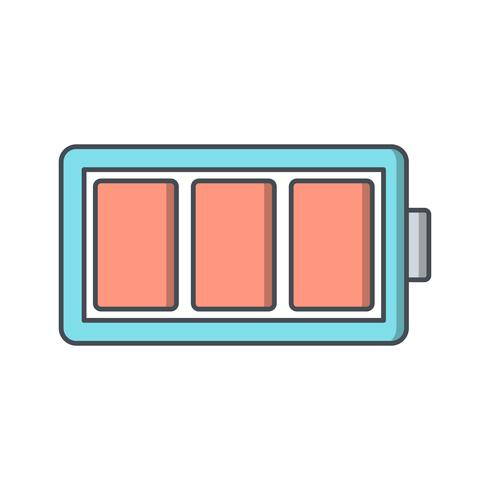 Full Battery Vector Icon