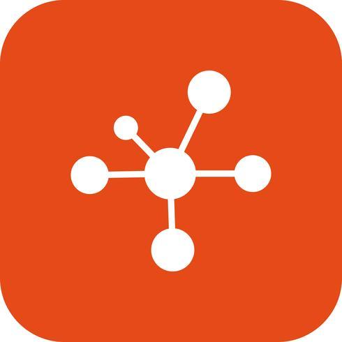 Icono de vector de electron