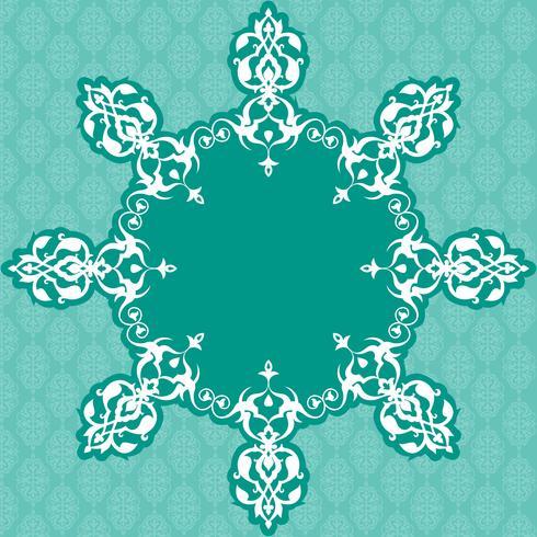 Fundo Floral Ornamental Sem Costura