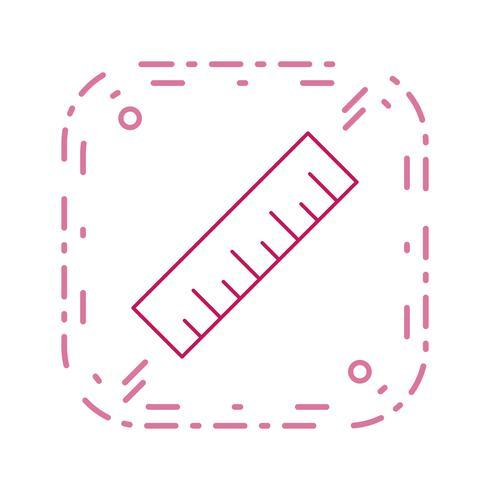 Icono de vector de escala