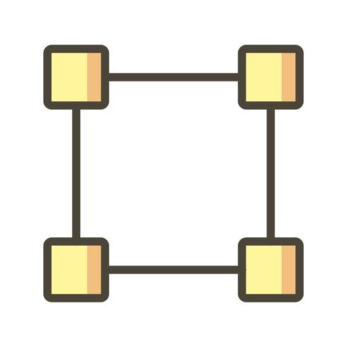 Vektor-Symbol ziehen