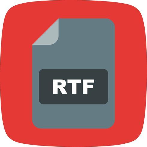 rtf vector pictogram