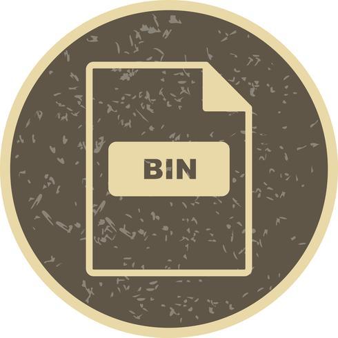 icône de vecteur bin
