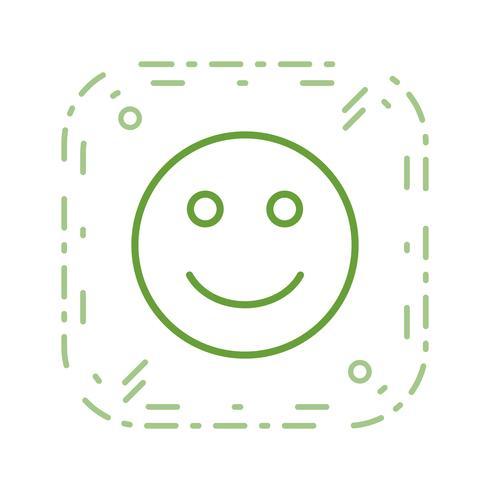 feliz emoji vector icon