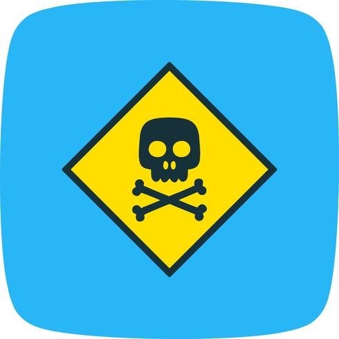 Toxic Vector Icon