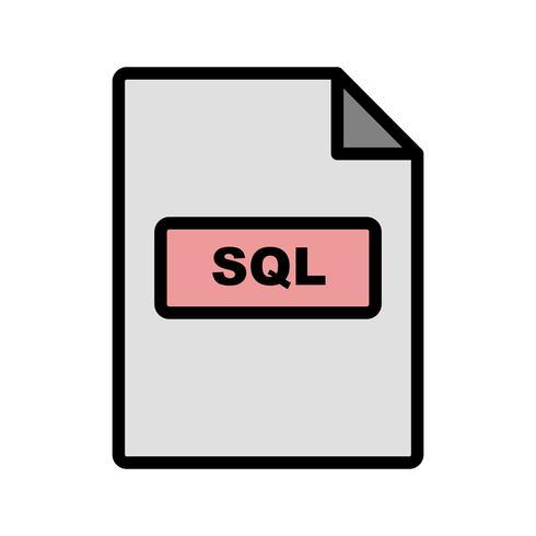 sql vector pictogram