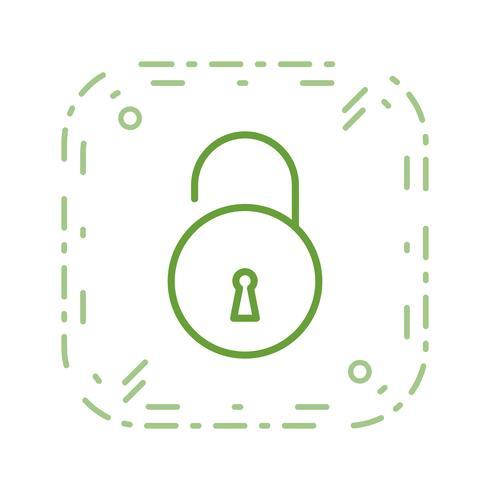 Desbloquear ícone Vector