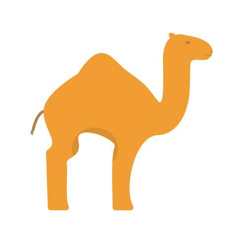 Ícone de vetor de camelo