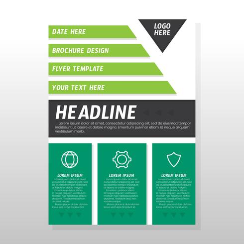 Design de brochura de negócios