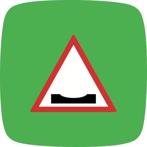 Icona di cali stradali vettoriale