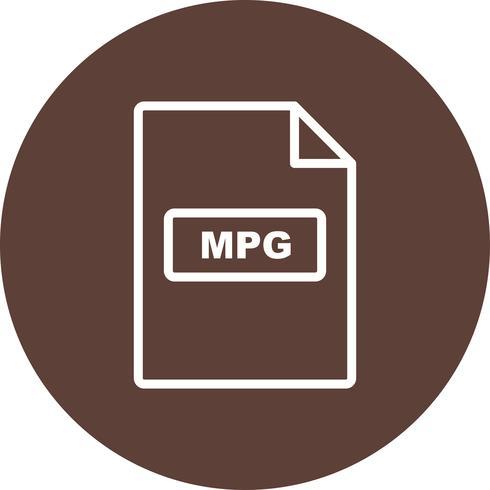 MPG Vector pictogram