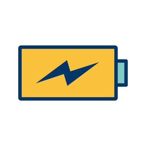 Batterij Vector Pictogram opladen