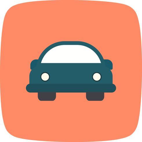 Cartoon Auto Vektor Icon