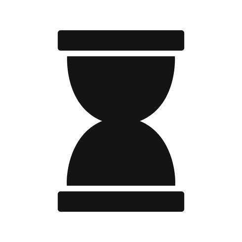 Ícone de vetor de ampulheta
