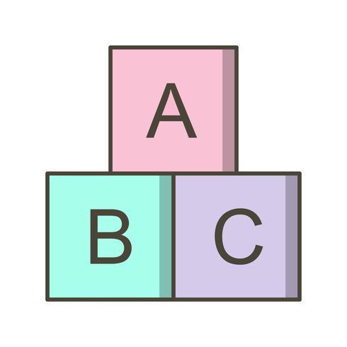 abc-kuber vektorikonen