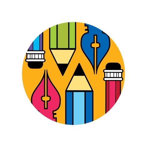 Logo of the designer vector