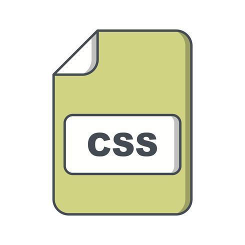 Ícone de vetor CSS