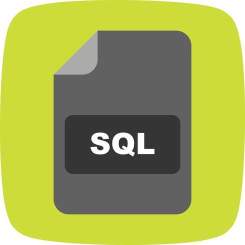 Ícone do vetor SQL