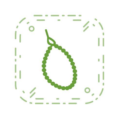 Icona di vettore di perline