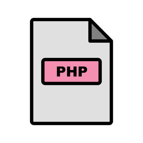 Ícone do vetor PHP