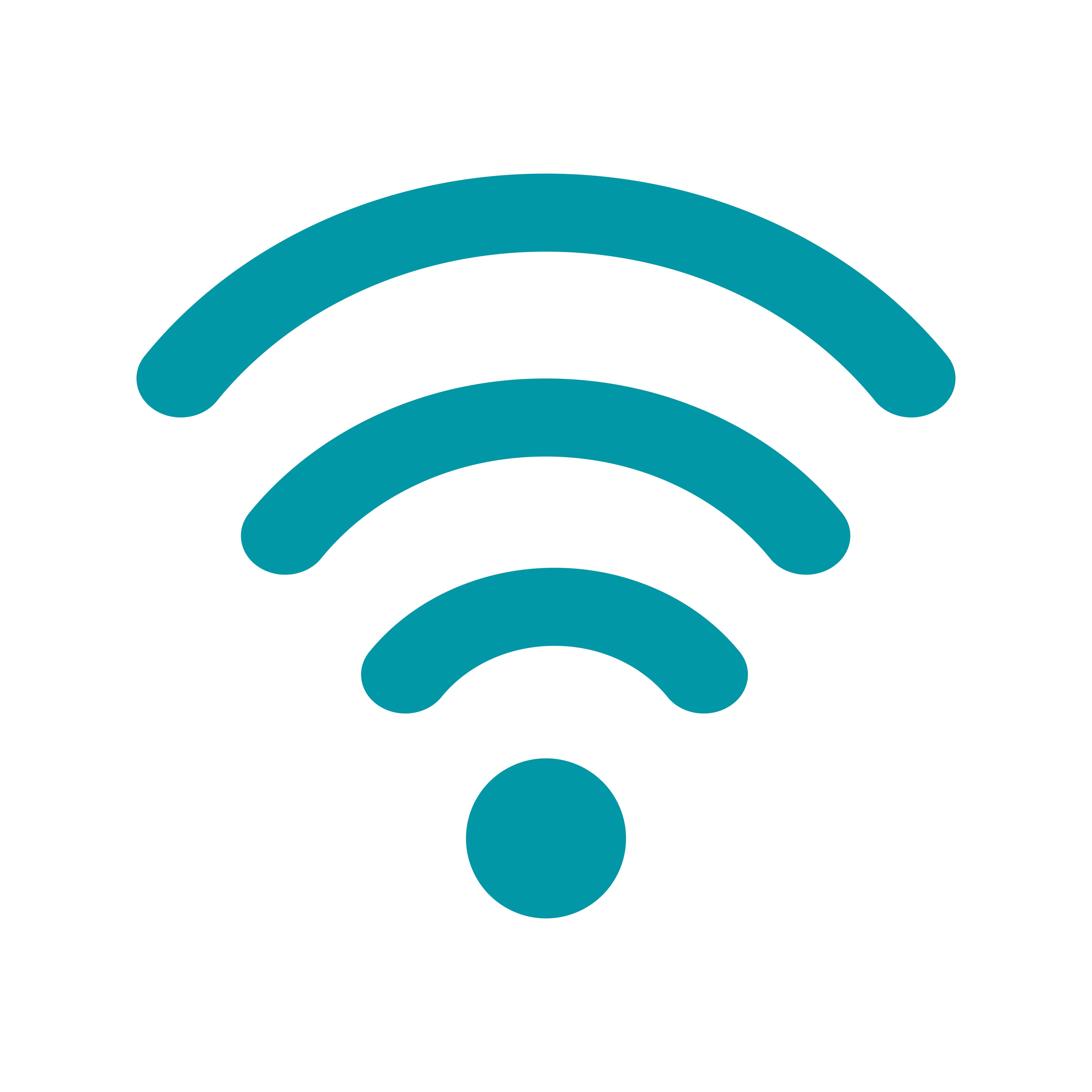 Wifi Vector Icon - Download Free Vectors, Clipart Graphics ...