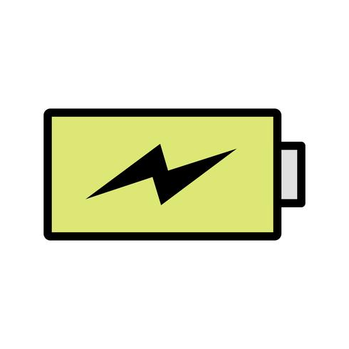 Charge Vector Icon de charge