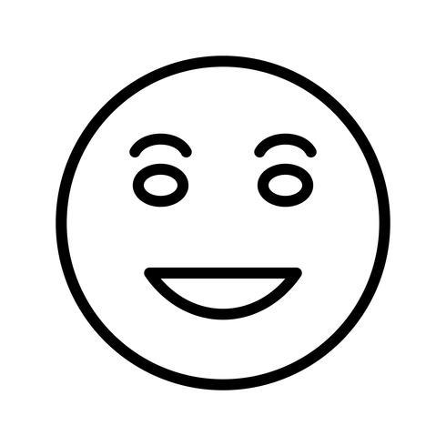 lol emoji vector ícone