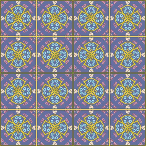 Fondo del modelo del azulejo