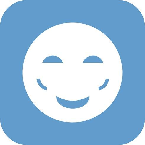 blush emoji vektorikonen